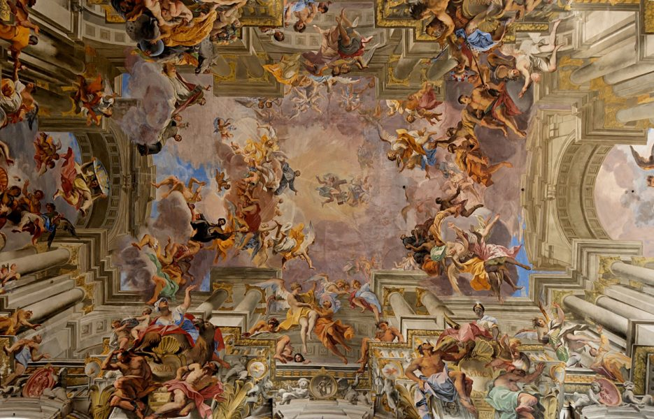 Andrea-Pozzo-Saint-Ignatius-Church-ceiling