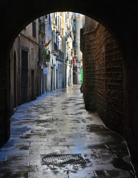 The-Gothic-district-Barcelona-Spain